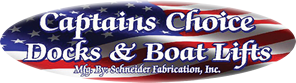 Captains Choice Docks and Boats Lifts - Schneider Fabriction